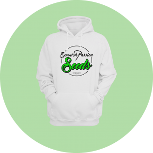 Sudadera Spanish Passion White Edition